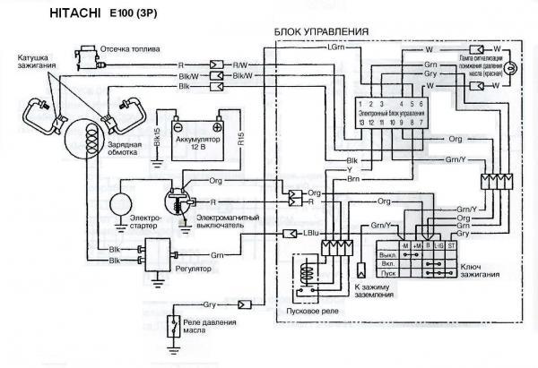 Регулятор напряжения бензогенератора схема фото 473